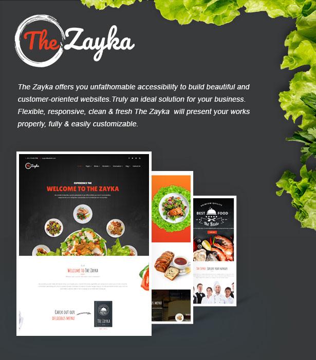 The Zayka – Multipurpose Restaurant, Food & Cafe MVC Theme - 3