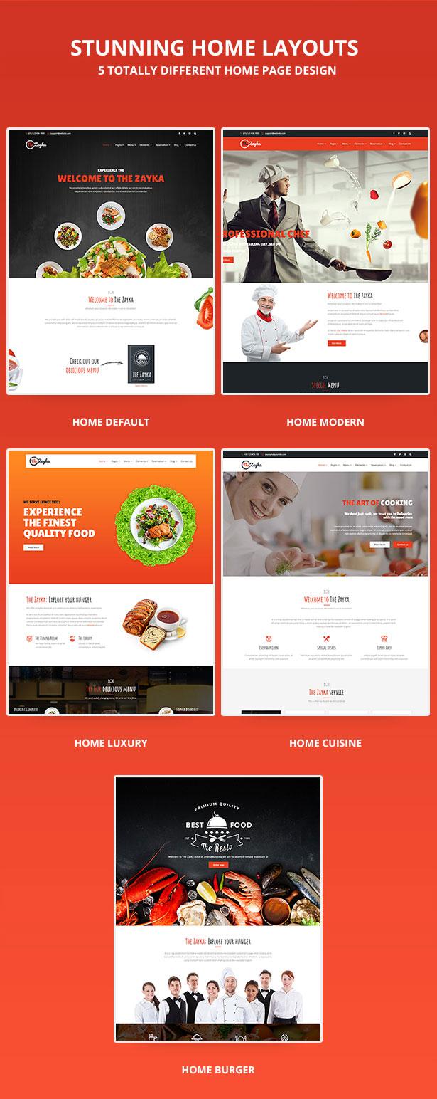 The Zayka – Multipurpose Restaurant, Food & Cafe MVC Theme - 4