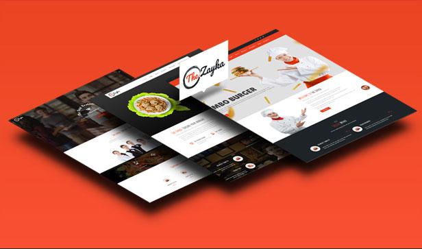 The Zayka – Multipurpose Restaurant, Food & Cafe MVC Theme - 6
